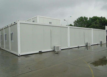 Cina Putih Mobile Container Homes Environment Friendly Assembly 6000mm * 2438mm * 2896mm pemasok